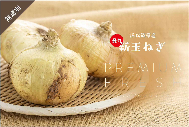 浜松篠原産 最旬新玉ねぎプレミアムフレッシュ